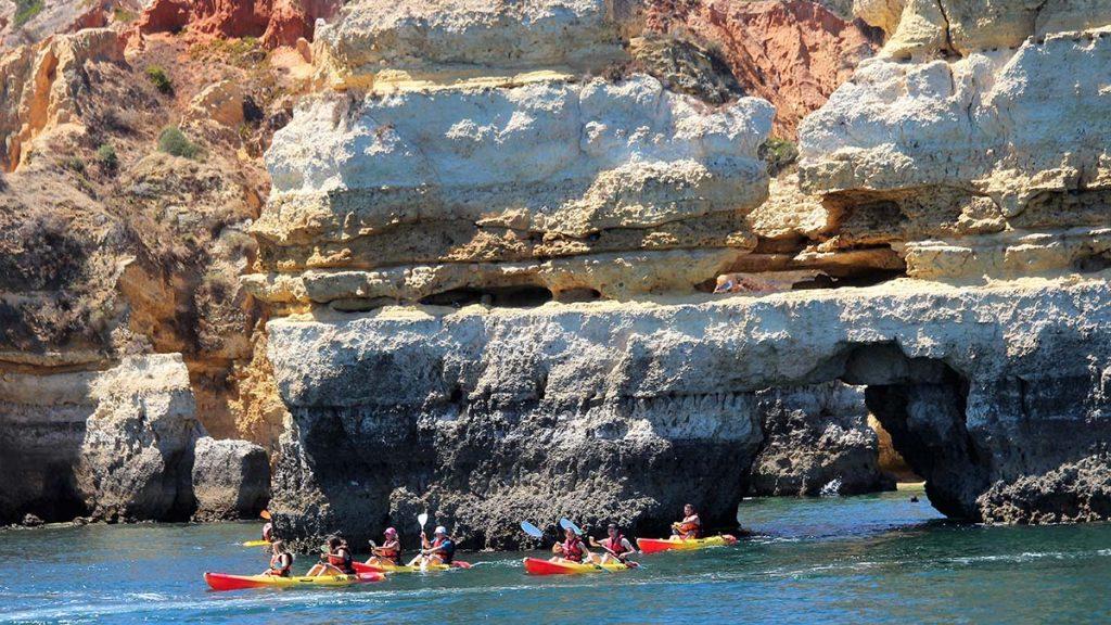Lagos Adventure - Kayak Ponta da Piedade - Lagos - Portugal