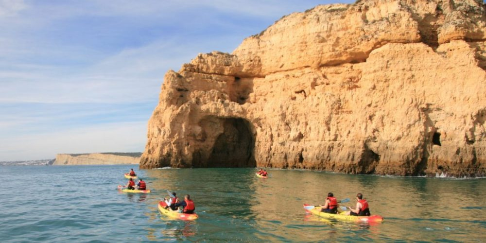 Kayak Lagos Adventure Portugal